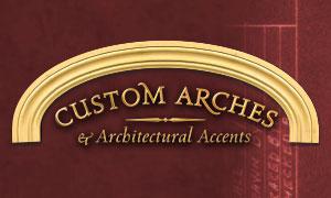Arcos personalizados y acentos arquitectónicos