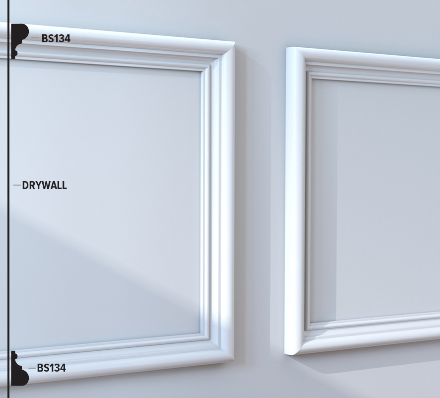 BS134 Panel Moulding