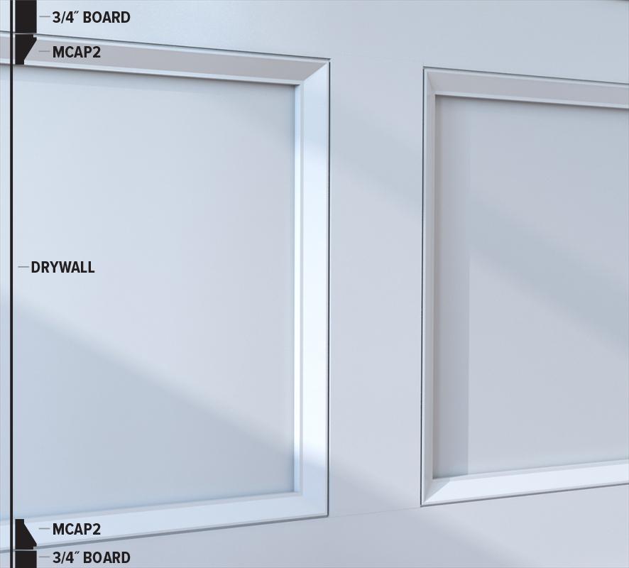 MCAP2 Panel Moulding