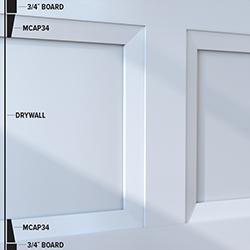 MCAP34 Panel Moulding