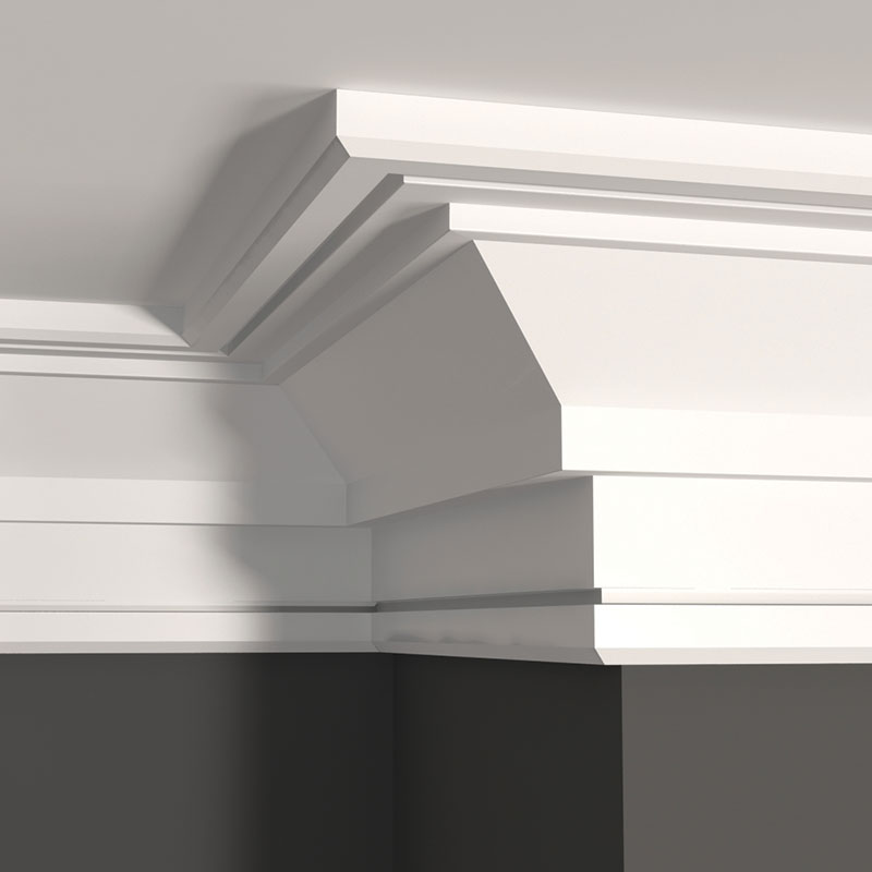 -The Metro Collection: MCR550 – MCAP1 top – MCC412 bottom – step on ceiling