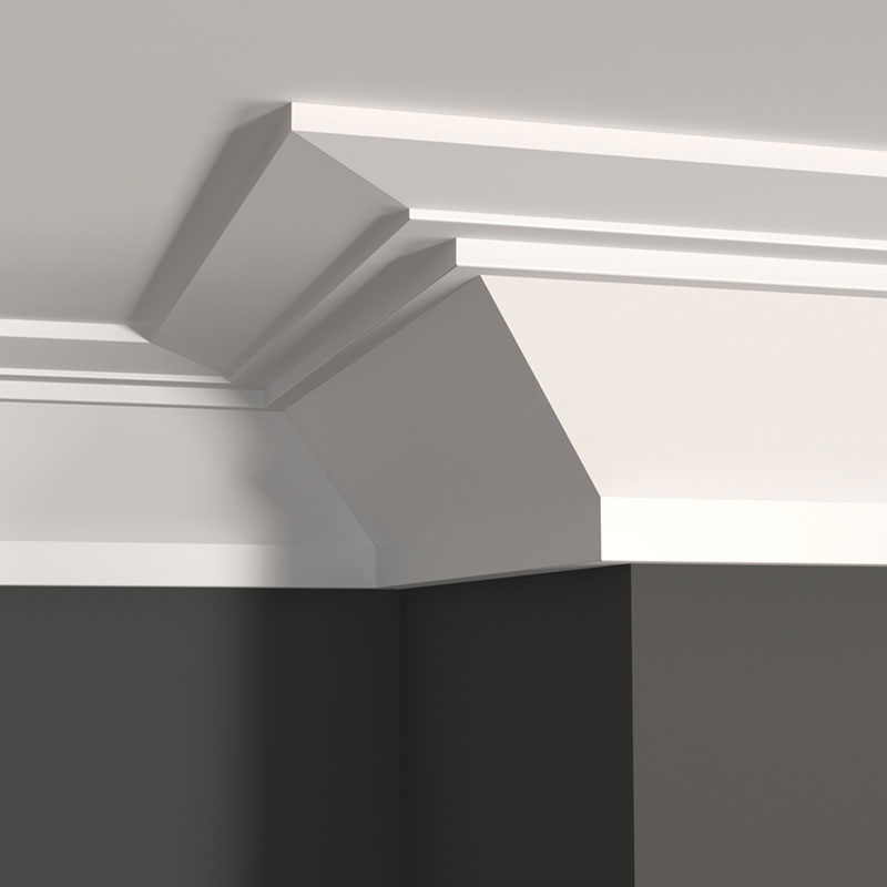 The Metro Collection: MCR650 step on ceiling – MCAP34 on top
