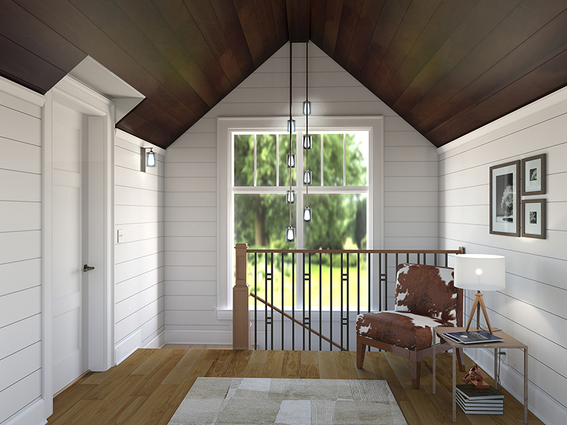 Magnolia Upstairs Hallway