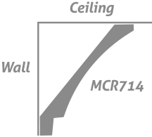 -The Metro Collection: Crown MCR714 Step Cove – Wall Step