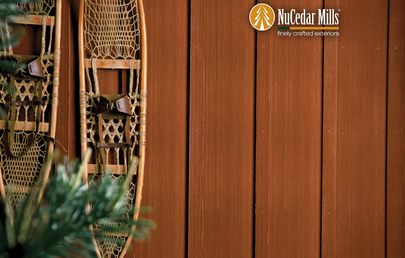 NuCedar Vertical Siding