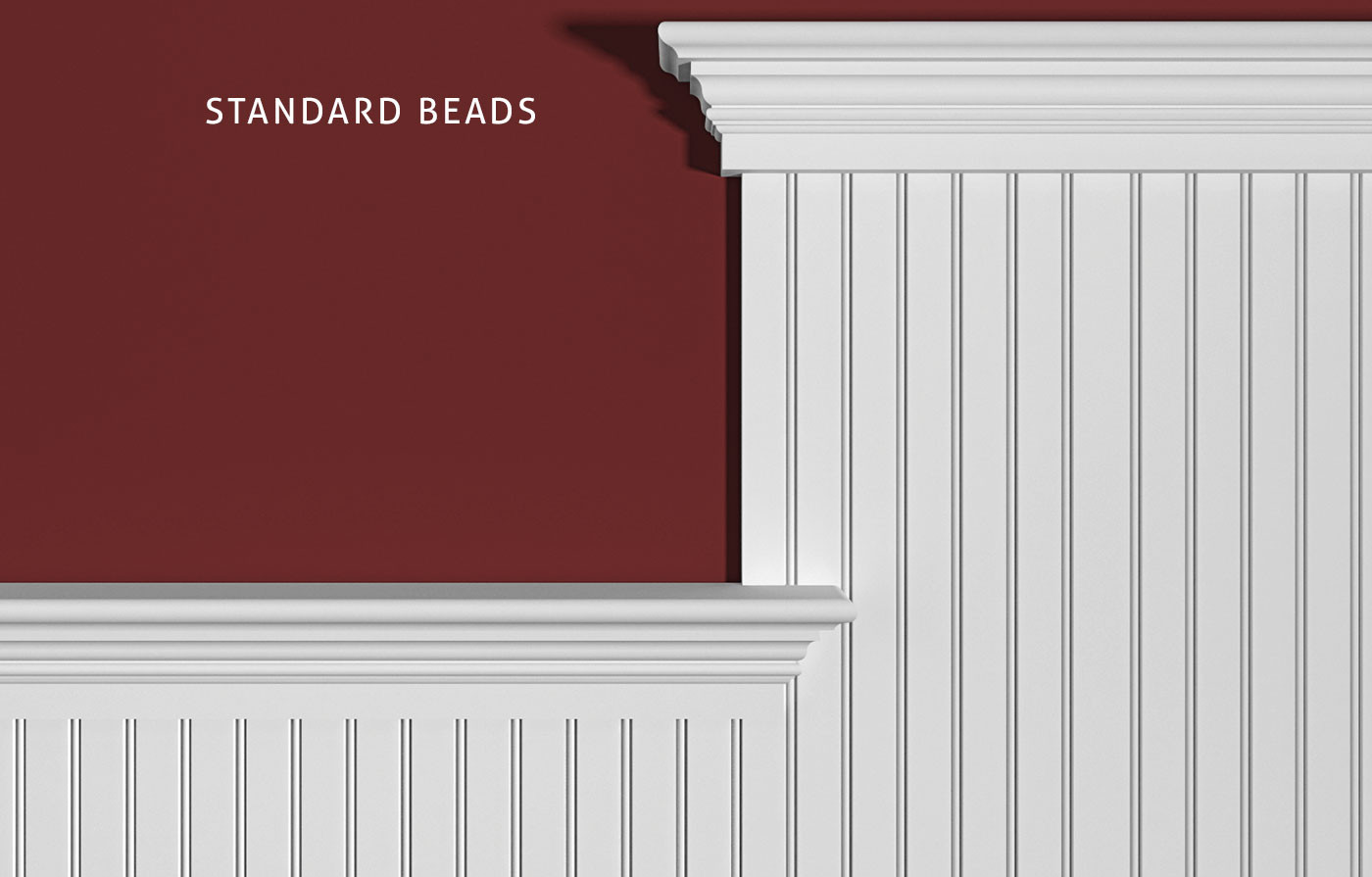 2 Inches On Center Standard Bead, Cap Combination: 1x4, SC214, FS312